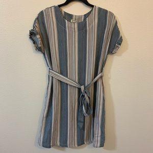 Mo:vint striped dress